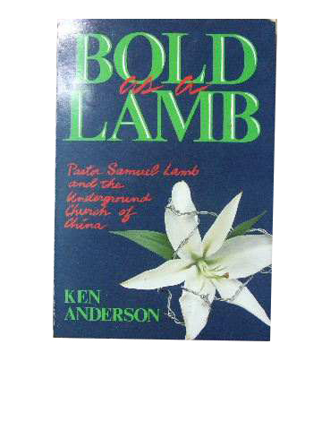 Image for Bold as a Lamb.
