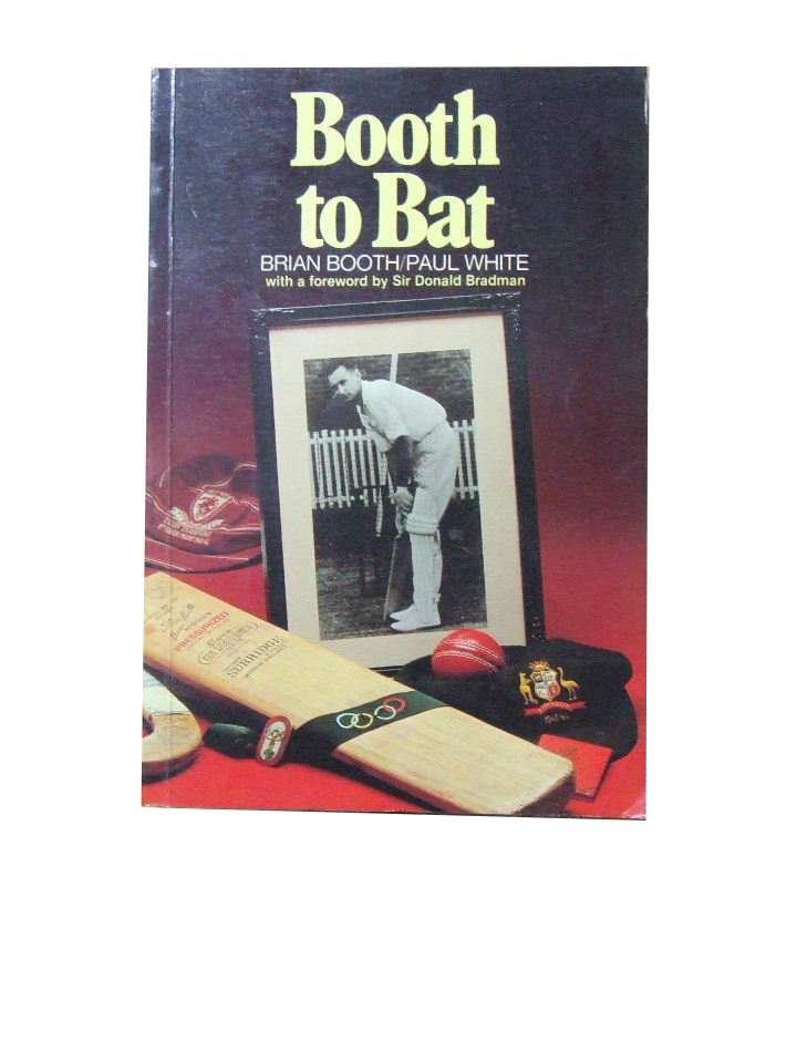 Image for Booth to Bat  An Autobiography