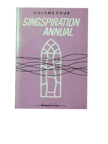 Image for Singspiration Annual Volume 4.