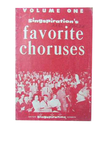 Image for Singspiration's Favourite Choruses Volume 1.
