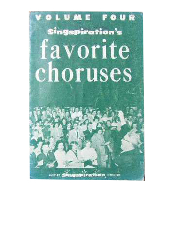 Image for Singspiration's Favourite Choruses Volume 4.