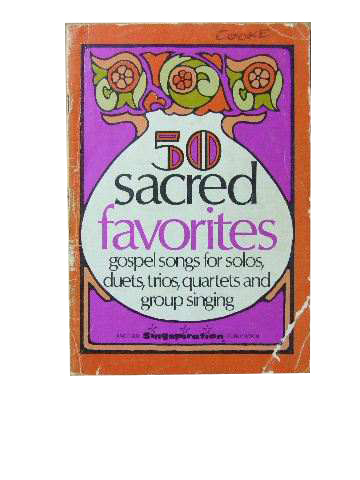 Image for 50 Sacred Favourites  Gospel songs for solos, duets, trios, quartets and group singing