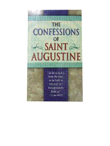 Image for The Confessions of St Augustine.