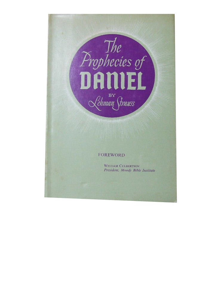 Image for The Prophecies of Daniel.