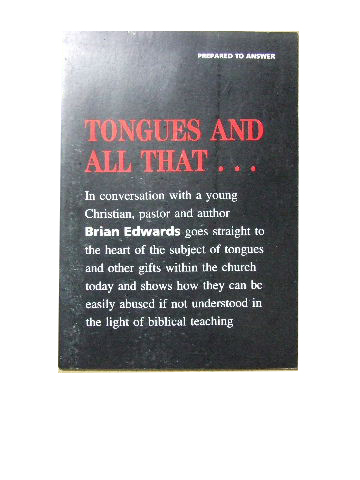 Image for Tongues and all that...