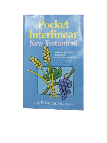Image for Pocket Interlinear New Testament.