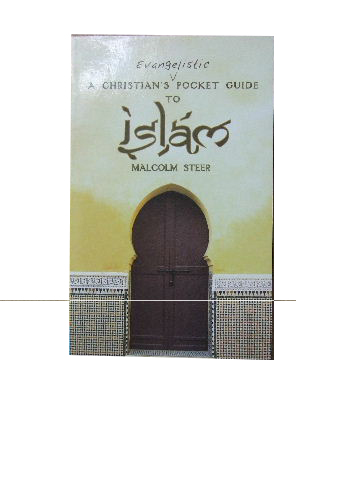 Image for A Christian's Evangelistic Pocket Guide to Islam.