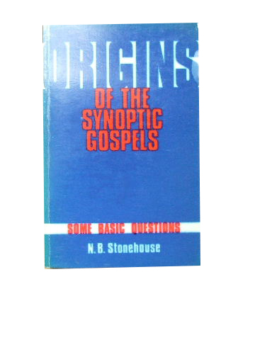 Image for Origins of the Synoptic Gospels.