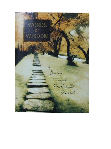Image for Words of Wisdom  A journey through Psalms and Proverbs