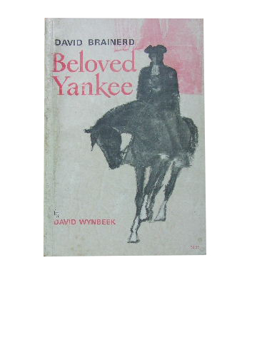Image for David Brainerd - Beloved Yankee.