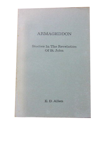 Image for Armageddon  Studies in the Revelation of St. John