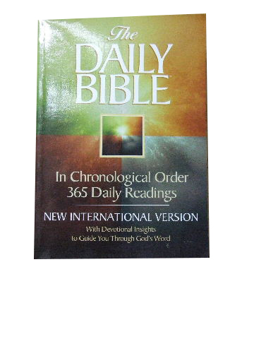 Image for The Daily Bible  365 daily readings in chronological order, with devotional insights