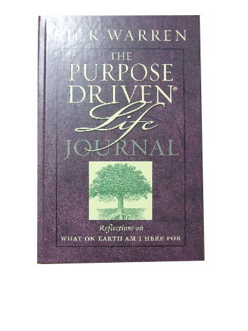 Image for The Purpose Driven Life Journal