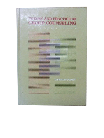 Image for Theory and Practice of Group Counselling.