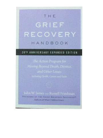 Image for The Grief Recovery Handbook.