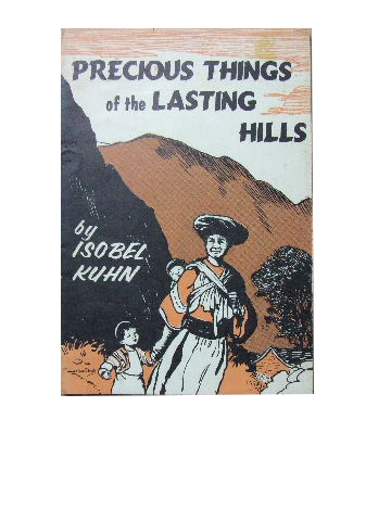 Image for Precious Things of the Lasting Hills.