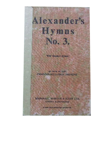 Image for Alexander's Hymns No. 3 Music edition.