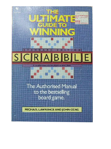 Image for The Ultimate Guide to Winning Scrabble.