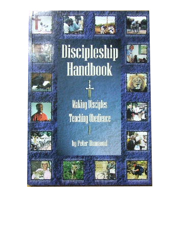 Image for Discipleship Handbook  Making disciples, teaching obedience