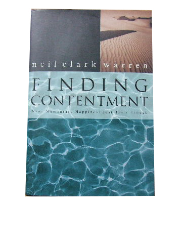 Image for Finding Contentment.