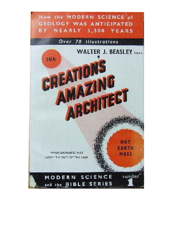 Image for Creation's Amazing Architect.