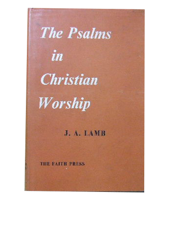 Image for The Psalms in Christian Worship.