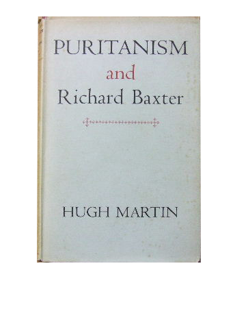 Image for Puritanism and Richard Baxter.