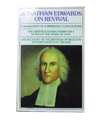 Image for Jonathan Edwards on Revival.