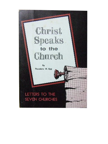 Image for Christ speaks to the Church  Letters to the seven churches