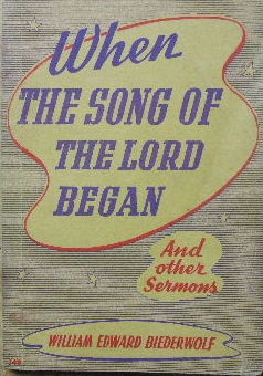 Image for When the Song of the Lord Began  and other sermons