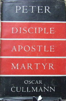 Image for Peter. Disciple, Apostle. Martyr  A HIstorical and Theological Study