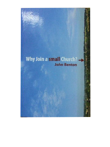 Image for Why Join a Small Church.