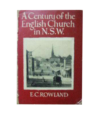 Image for A Century of the English Church in N.S.W.
