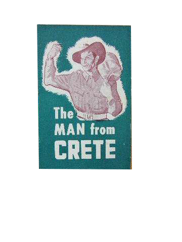 Image for The Man from Crete.