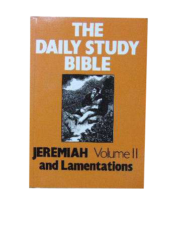 Image for Jeremiah Volume II and Lamentations  (The Daily Study Bible)
