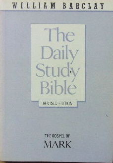 Image for The Gospel of Mark  (The Daily Study Bible)