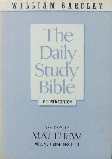 Image for The Gospel of Matthew Vol 1 (chapters 1-10)  (The Daily Study Bible)