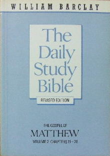 Image for The Gospel of Matthew Vol 2 (chapters 11 - 28)  (The Daily Study Bible)