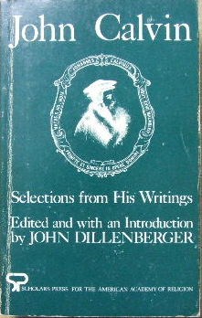 Image for Selections from his Writings  (edited by John Dillenberger)
