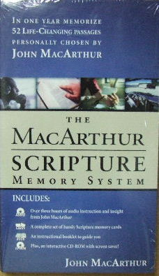 Image for Scripture Memory System  52 life-changing passages chosen by John Macarthur