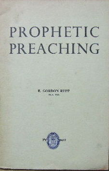 Image for Prophetic Preaching.