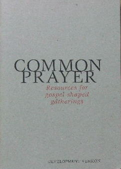 Image for Common Prayer - resources for gospel-shaped gatherings.