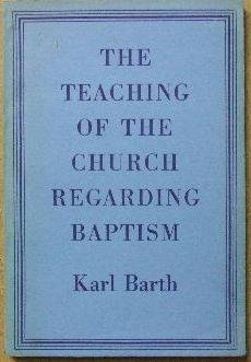 Image for The Teaching of the Church regarding Baptism.