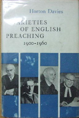 Image for Varieties of English Preaching 1900-1960.
