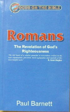 Image for Romans - the Revelation of God's Righteousness  (Focus on the Bible series)