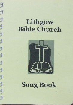 Image for Lithgow Bible Church Song Book  (Words only edition)