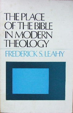 Image for The Place of the bible in Modern Theology.