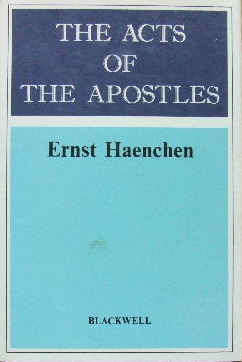 Image for The Acts of the Apostles  A Commentary
