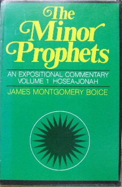 Image for The Minor Prophets. An Expositional Commentary. Volume 1 Hosea - Jonah.