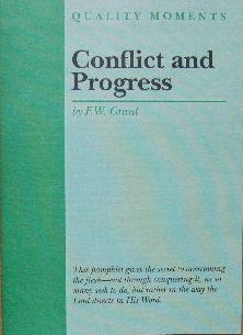 Image for Conflict and Progress  (Quality Moments series)